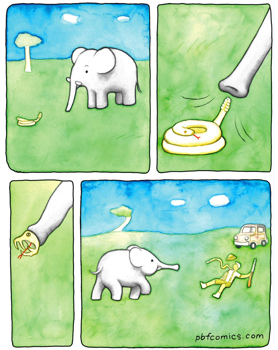 """RT @PerryFellow: Lost PBF comic: """"Trunkle"""" https://t.co/BdTafy8NsF"""