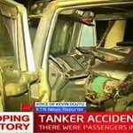 At least seven people are feared dead in an accident involving a petrol tanker and a tuktuk taxi in