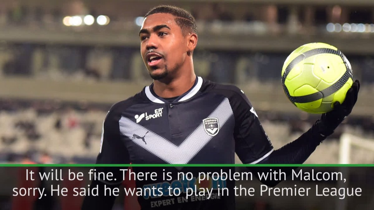 RT @goal: Arsenal & Spurs want him, but Malcom won't be leaving Bordeaux in January! #AFC #THFC https://t.co/KBwHXJvQwC