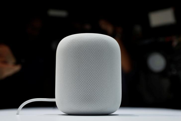 Apple launches HomePod voice speaker, taking on Google, Amazon