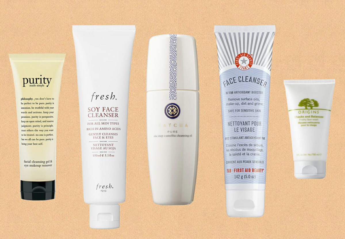 RT @ManRepeller: These cleansers are good for sensitive skin AND they wash...