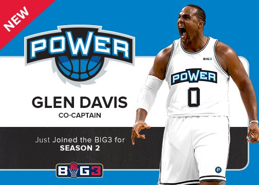 RT @thebig3: ???? ROSTER ALERT ????  @iambigbaby11 will be joining Power as co-captain for #BIG3Season2! https://t.co/aDefWkohzq