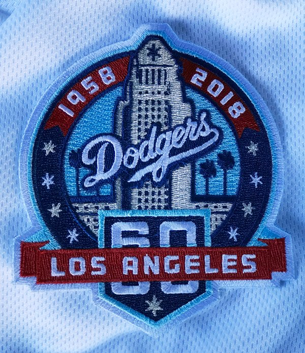 RT @DodgersBeat: #Dodgers unveil 60th anniversary logo that will be worn as a patch on uniform this season https://t.co/antglWTXhU