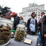 Pop-up pot shop? Vancouver Police bust open-air drug market in Robson Square