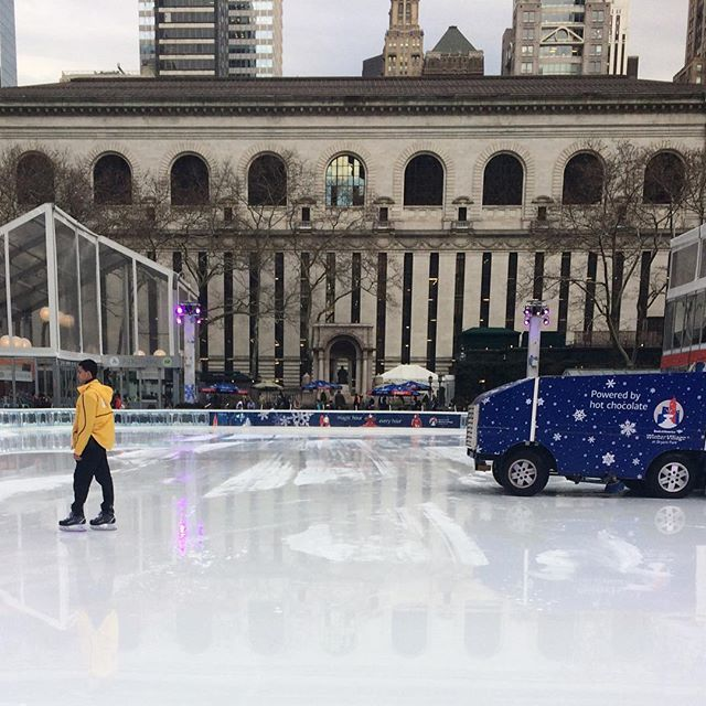 If it were not so warm and rainy today, I'd love to be skating @bryantparknyc ! #ej18 https://t.co/XptbpyR0lx https://t.co/EKlt0yh1sp