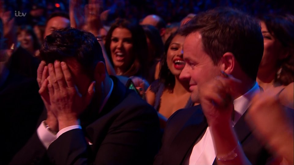 Ant and Dec win best presenter award for the 17th year running as they take home three National Television Awards