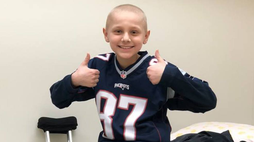 Maine boy, who helped other kids battling cancer, officially cancer free