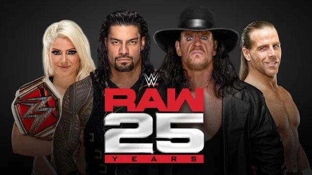 WWE RAW 25 Delivers Highest RAW Viewership Since 2015 #RAW25 #RAW #WWE #SDLive https://t.co/u3vdbXfaDd https://t.co/ma4ZUykcCn