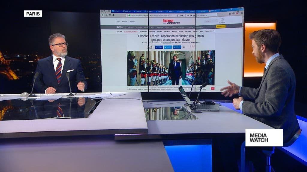 MEDIAWATCH - ChooseFrance campaign aims to show 'France is back'