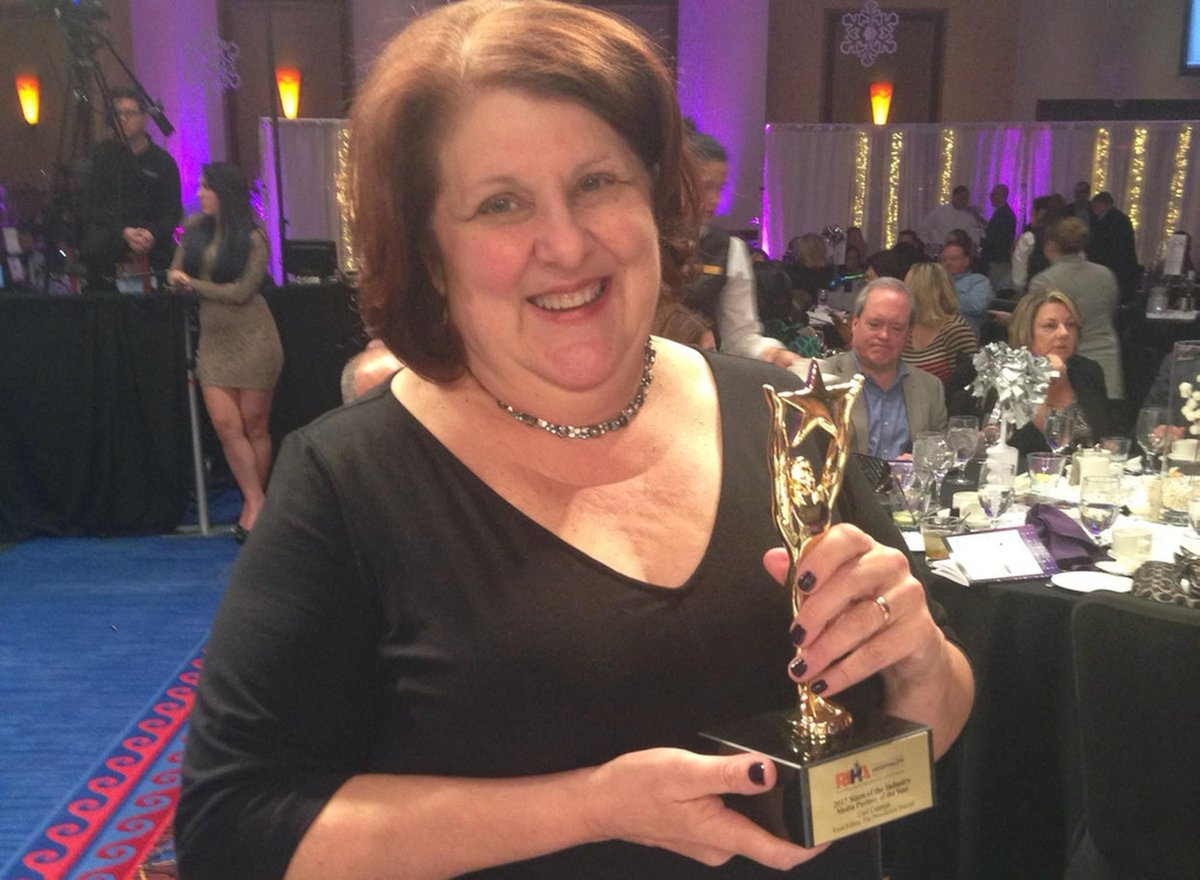 Journal editor Ciampa honored by public relations group