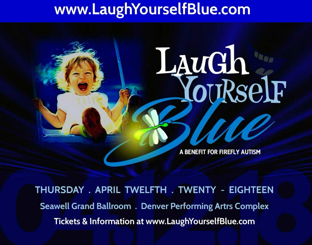 Laugh Yourself Blue: A night of laughs to raise money for Firefly Autism
