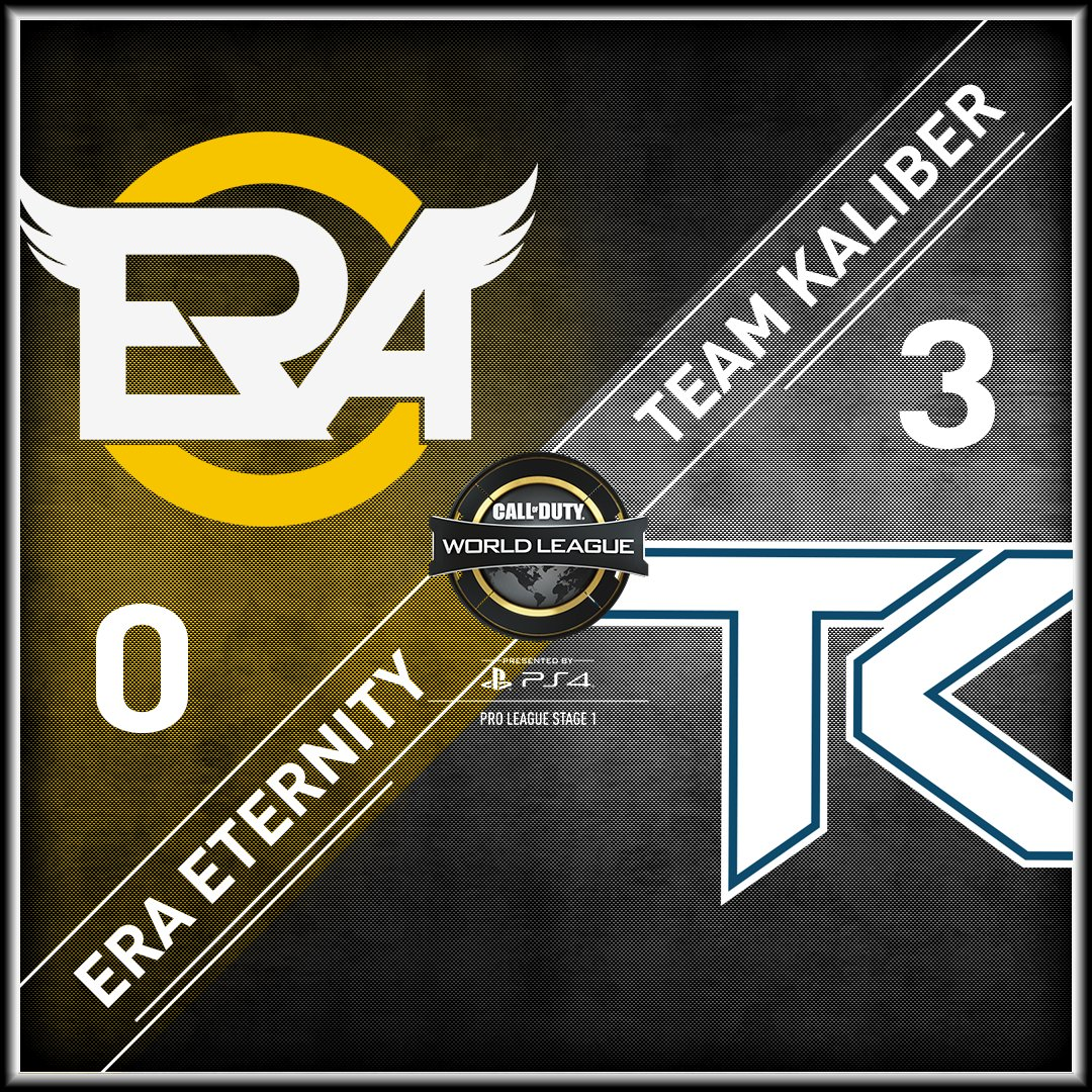 Some close maps in the series, but @TeamKaliber are able to come away with a 3-0 sweep of @eRa_Eternity! #CWLPS4 https://t.co/0NcXfJnDpy