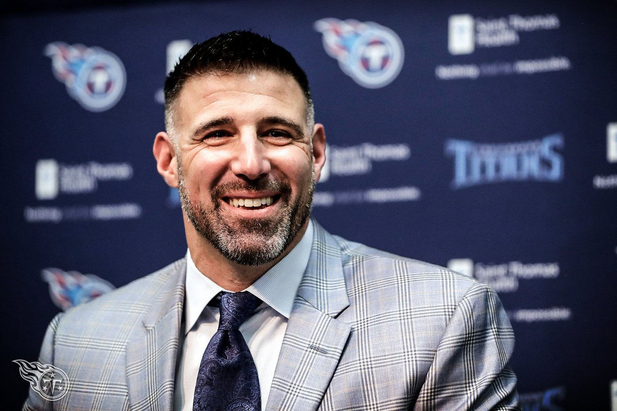 Mike Vrabel received handshakes, pats on the back and business cards while making the rounds at the Senior Bowl.  📰 » https://t.co/6UbtJgYDPy https://t.co/LU30PqNFgb