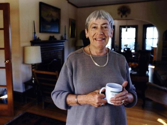 Science fiction author Ursula K. Le Guin dies
