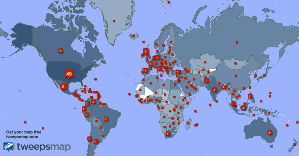 I have 777 new followers from USA, India, Indonesia, and more last week. See Rw9AAvUybD