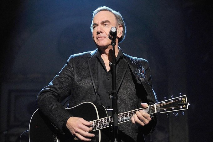 Happy 77 Birthday Neil Diamond. Love ya