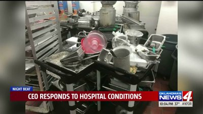 CEO addresses filthy conditions at Midwest City hospital