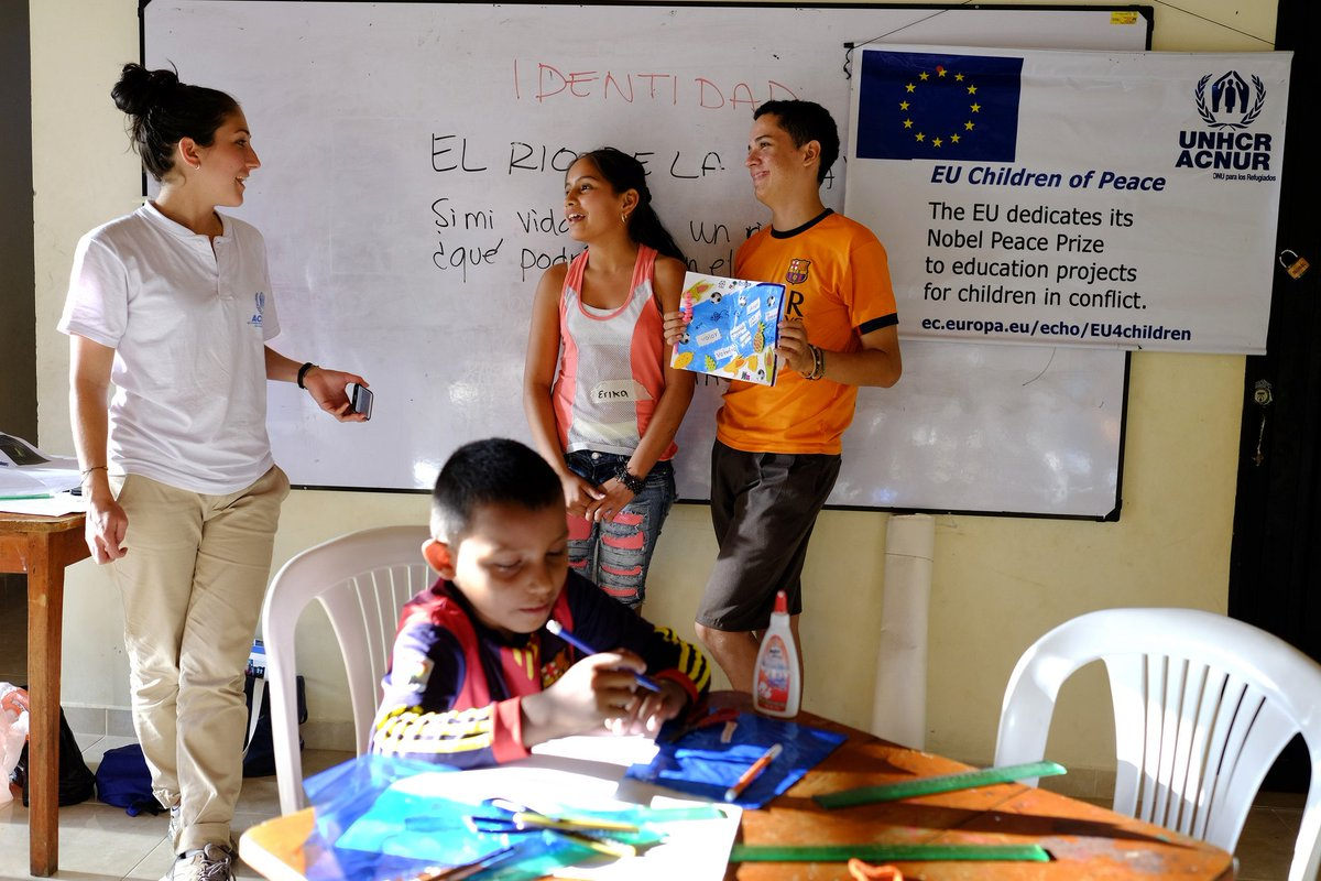 test Twitter Media - With more than €231.2 million in humanitarian aid since 1994, #Colombia is the largest recipient of the @EU_Commission's #humanitarianaid in Latin America.  See what the money is spent on here: https://t.co/AnAJeiIQtT https://t.co/X0vHadBYj0