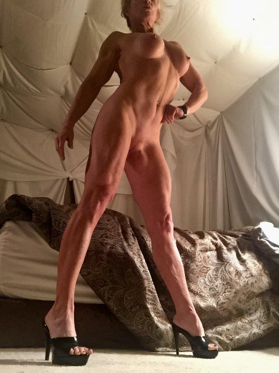 1 pic. #WickedWednesday morning selfies #naked #milf #highheels GM all!💋❤️💕💋❤️💕💋❤️💕 EPg