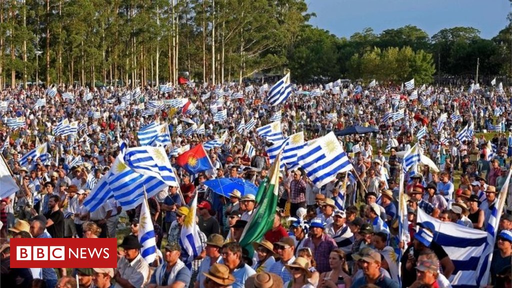 Uruguay farmers hold mass protest over high costs