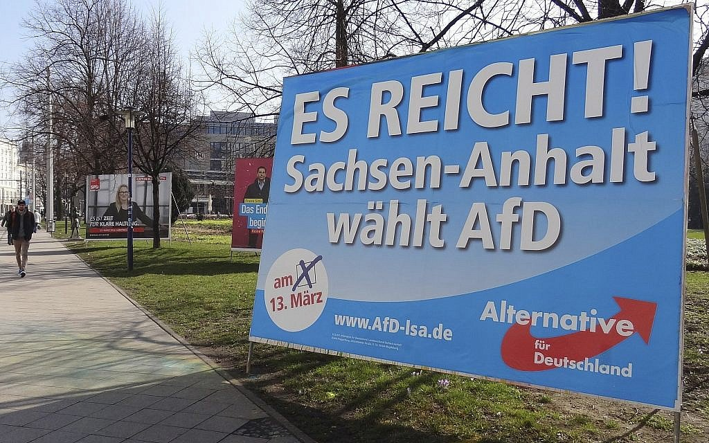 Leading member of Germany's far-right AfD converts to Islam, resigns