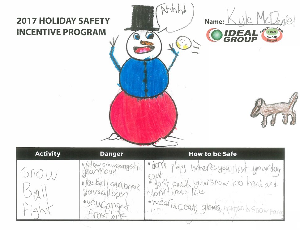 test Twitter Media - Congratulations to this years Winter Safety Incentive Program winners! The main focus that the kids had this year was how to be safe during winter outdoor activities. Check out the winners illustrations and remember to always STAY SAFE! https://t.co/yddVsTPcIu