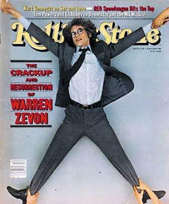 Happy Birthday Warren Zevon!!