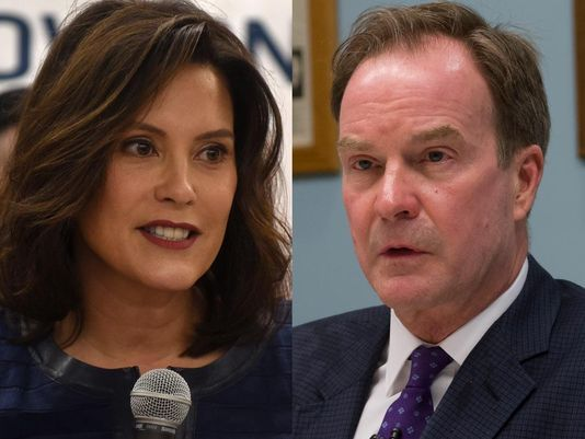 Poll: Whitmer leads Schuette by 7 points in gov race
