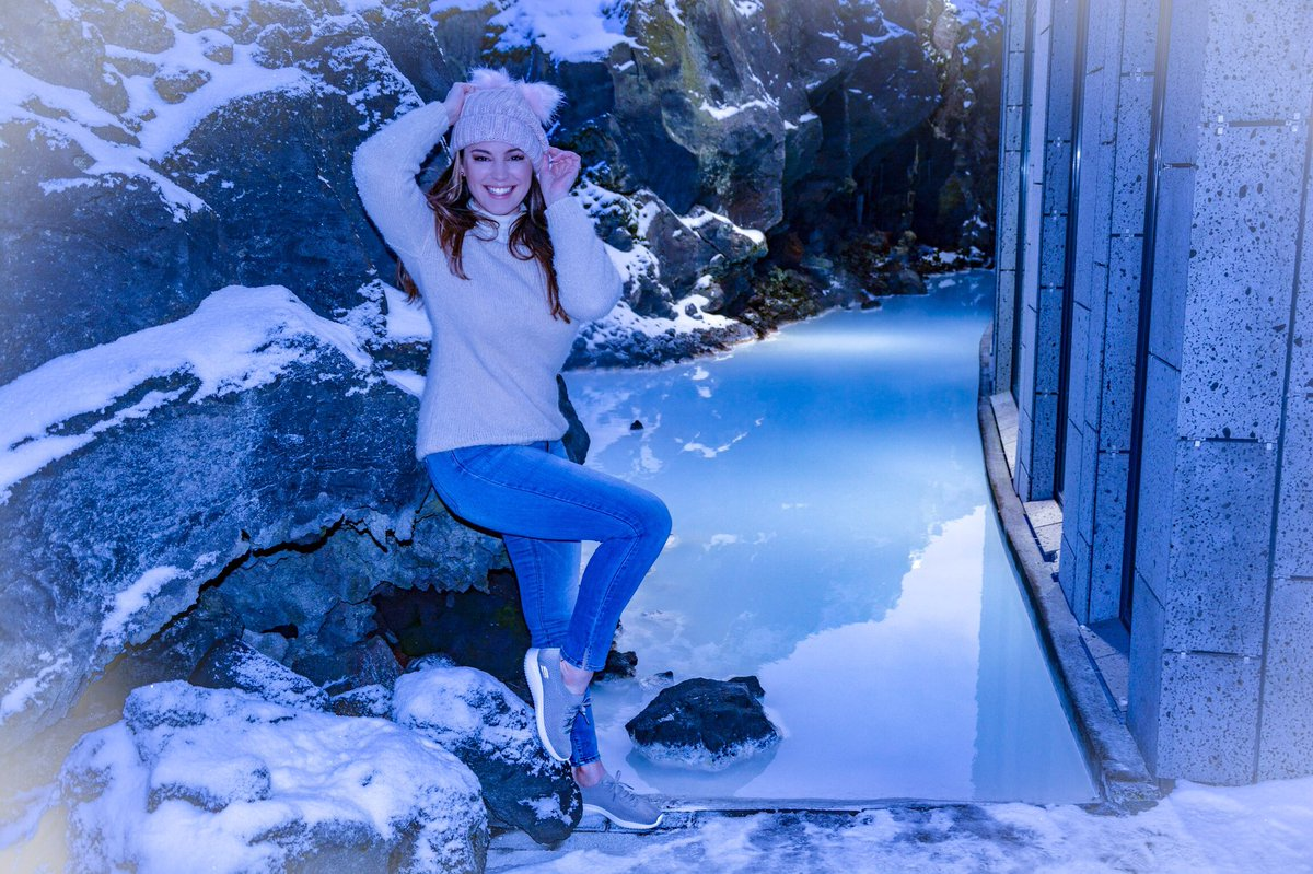 Wearing @SKECHERS_UK Ultra Flex in the Blue Lagoon Iceland ???? https://t.co/N4ScEaEFD1