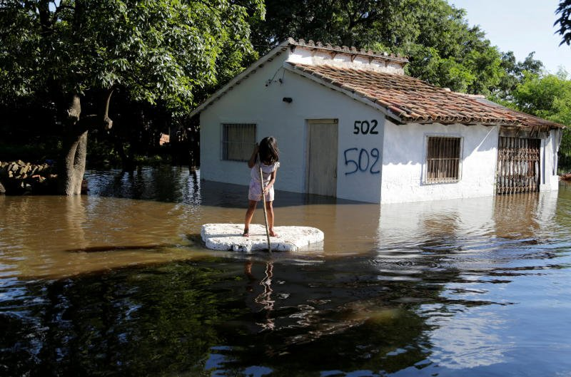 State of emergency as floods worry Paraguay capital