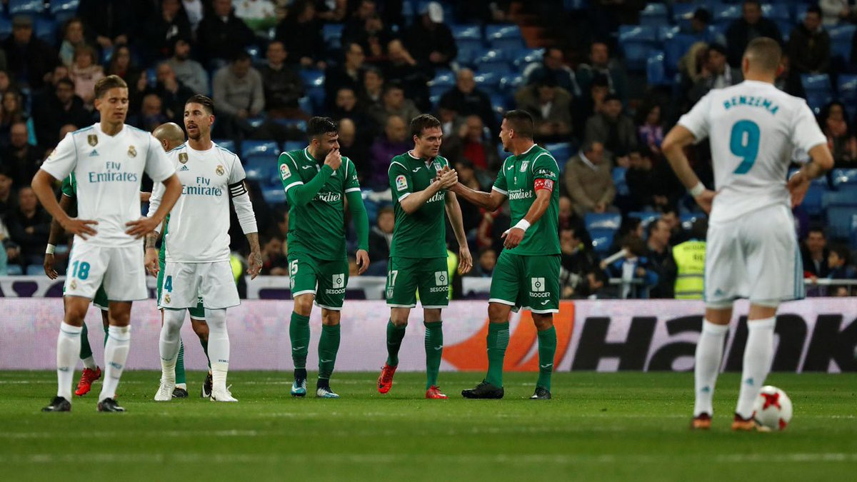 Copa del Rey: In absence of Cristiano Ronaldo, Real Madrid humbled by Leganes
