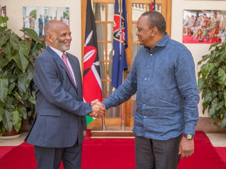 Uhuru seeks deeper ties with Sudan for tea exports, low-cost sugar tips