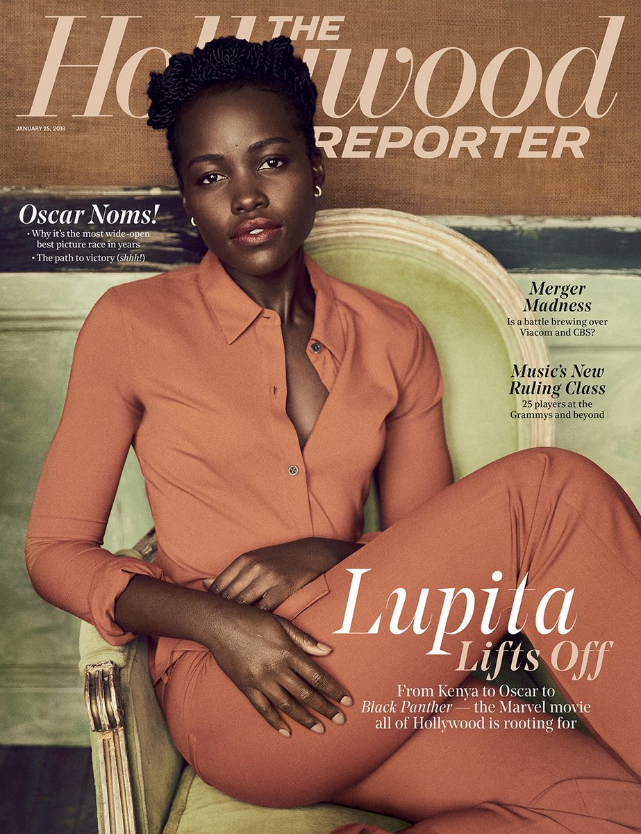 THR cover: @Lupita_Nyongo, from political exile to Oscar to Marvel's