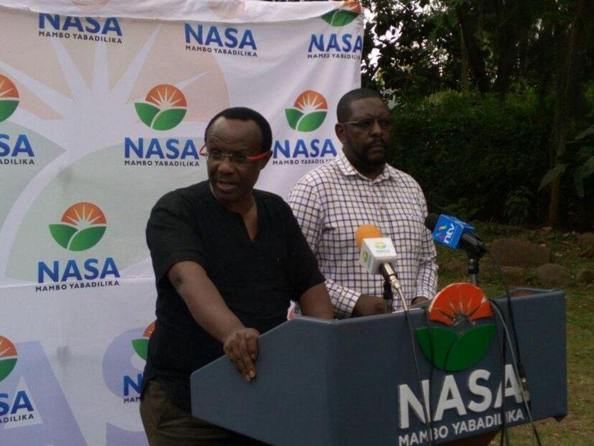 NASA to hold Raila pre-oath fete in Homa Bay on Saturday