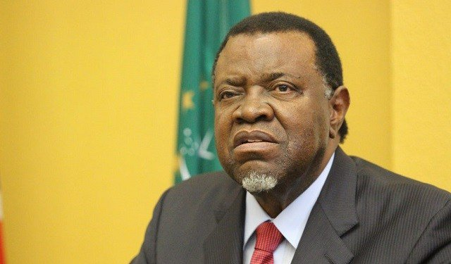 Namibian president fires rivals from cabinet