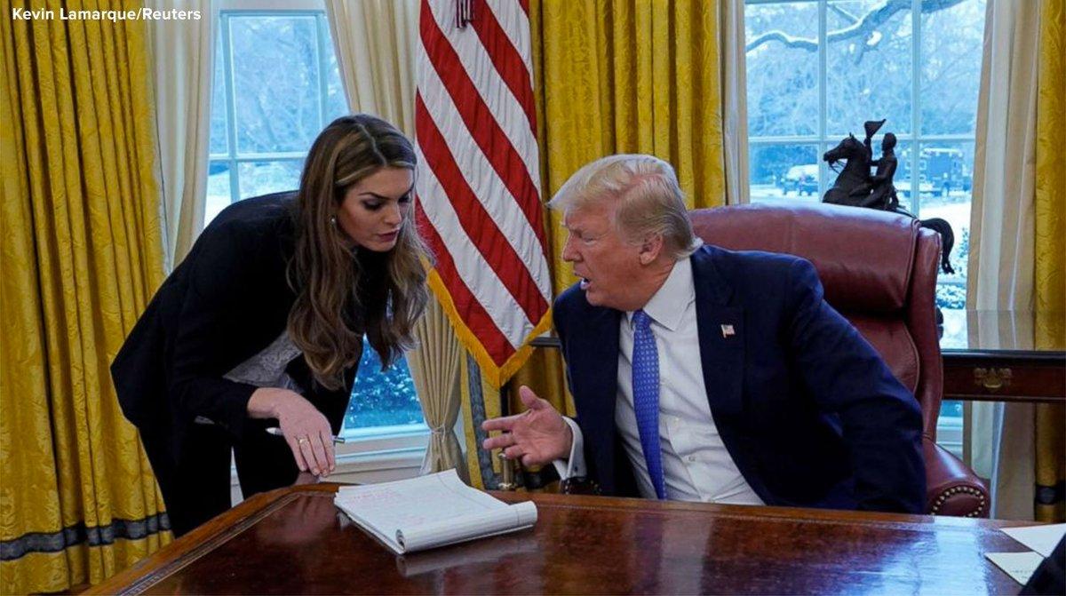 Pres. Trump's communications director under increased scrutiny.