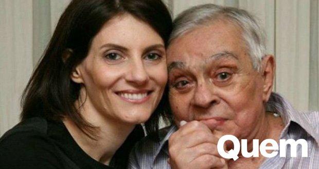 Chico Anysio. Foto do site da Quem Acontece que mostra Viúva de Chico Anysio relembra o humorista: Queria poder falar com ele