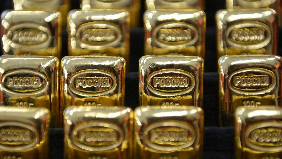 'Safe haven': Russian banks purchase gold at record pace