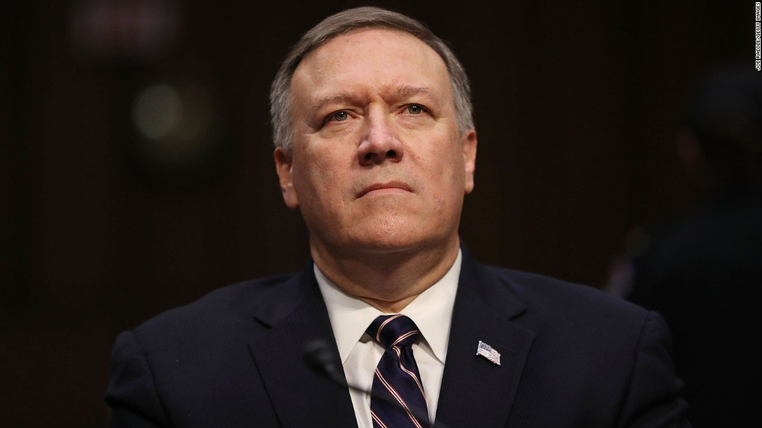 CIA Director Mike Pompeo met with sanctioned Russian spies, US officials confirm