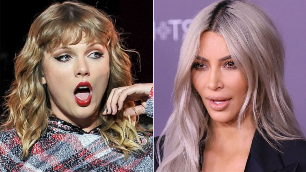 Kim Kardashian, Queen Of Petty, Is Sending Valentines To Taylor Swift And All Her 'Haters'