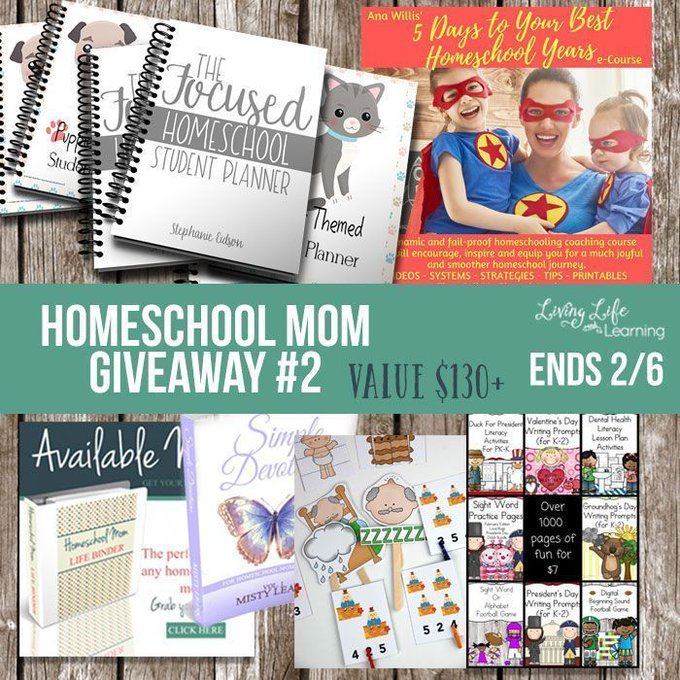 Homeschool Planning Tips for the Unorganized Mom