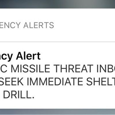 After Hawaii False Alarm, Lawmakers Want President, Pentagon Involved in Missile Alerts