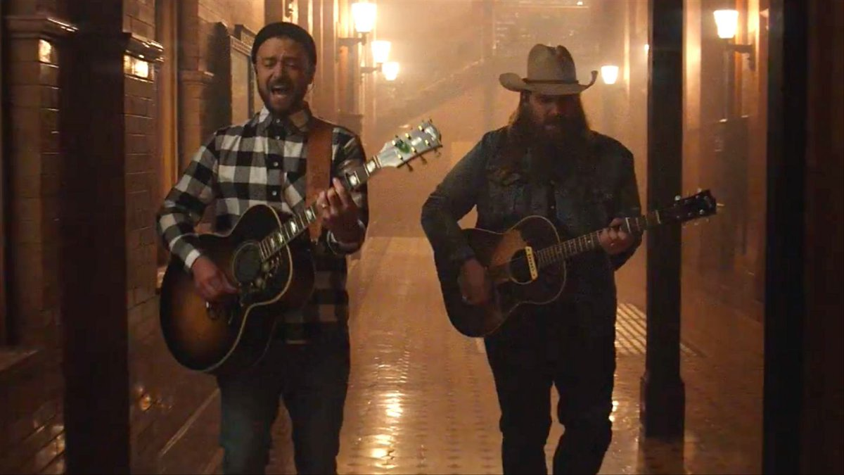 Justin Timberlake's Stunning New Video With Chris Stapleton Was Done In One Take