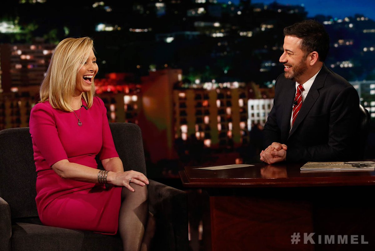 Laughing because Jimmy Kimmel made me laugh because he's funny. https://t.co/7W7cctuTLe