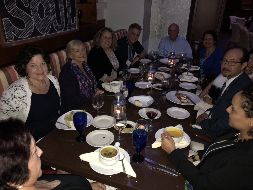 test Twitter Media - Enjoying dinner with leaders of the Puerto Rican Psychological Association in Ponce, Puerto Rico https://t.co/hU54c3YYgP