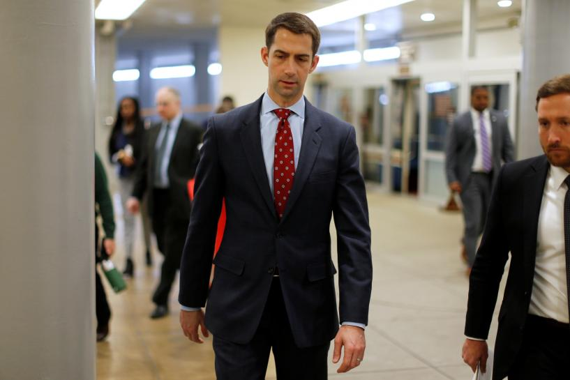 Republican Senator Cotton praises Trump immigration plan