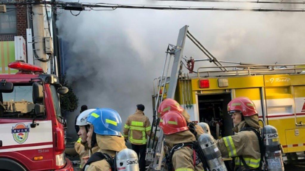 33 dead in South Korea hospital blaze: firefighters