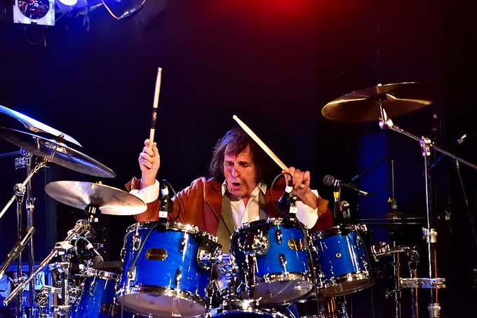 Happy Birthday Today 1/26 to long time Mountain drummer Corky Laing. Rock ON!