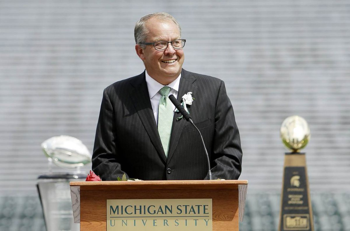 NEW: Michigan State University athletic director resigns in wake of Larry Nassar scandal.