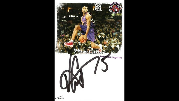 Happy Birthday to Vince Carter of who turns 41 today. Enjoy your day
